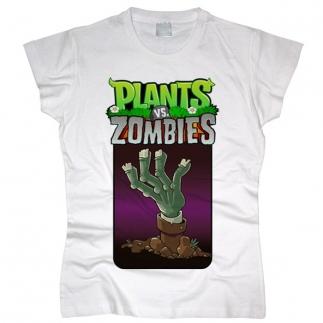 Plants vs Zombies 01 - Футболка женская