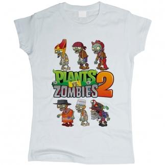 Plants vs Zombies 02 - Футболка женская