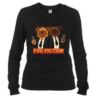 Pug Fiction - Свитшот женский