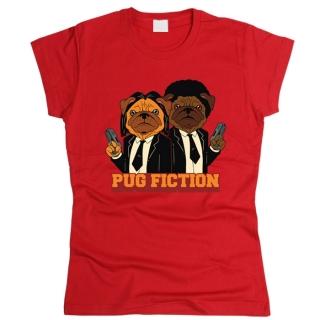 Pug Fiction - Футболка женская