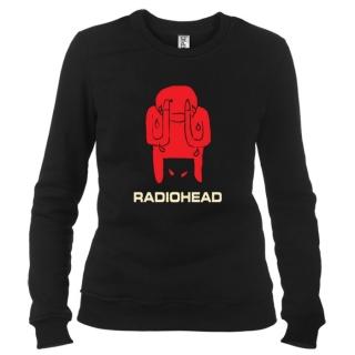 Radiohead 02 - Свитшот женский