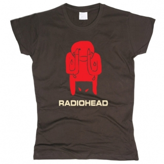 Radiohead 02 - Футболка женская