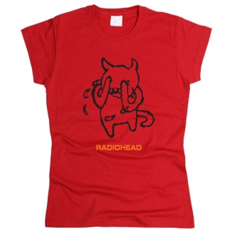 Radiohead 05 - Футболка женская
