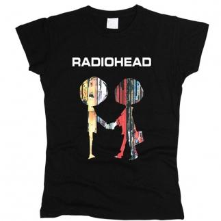 Radiohead 08 - Футболка женская