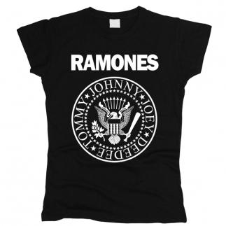 Ramones 01 - Футболка женская