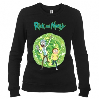 Rick And Morty 01 - Свитшот женский