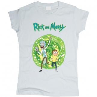 Rick And Morty (Рик и Морти) 01 - Футболка женская