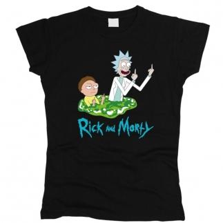 Rick And Morty (Рик и Морти) 03 - Футболка женская