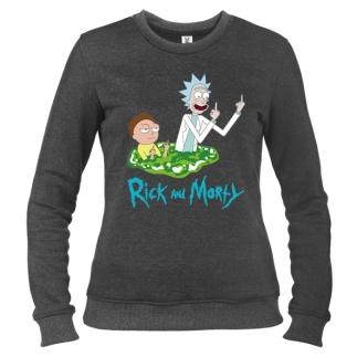 Rick And Morty 03 - Свитшот женский