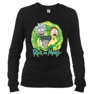 Rick And Morty 04 - Свитшот женский