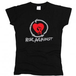 Rise Against 01 - Футболка женская
