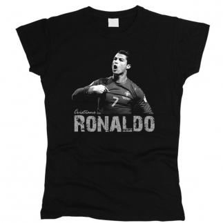 Ronaldo 01 - Футболка женская