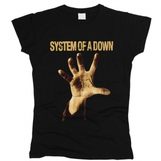 System of a Down 01 - Футболка женская