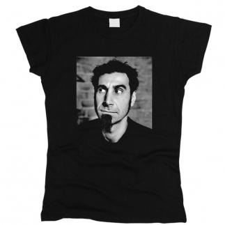 Serj Tankian 01 - Футболка женская
