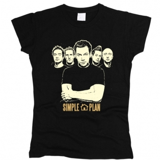 Simple Plan 01 - Футболка женская