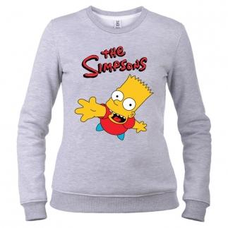 Simpsons 03 - Свитшот женский
