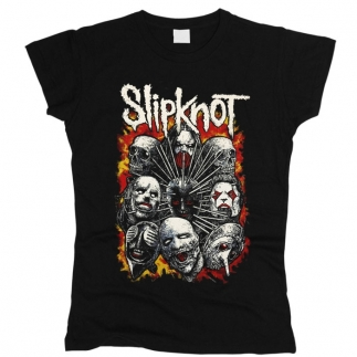 Slipknot 04 - Футболка женская