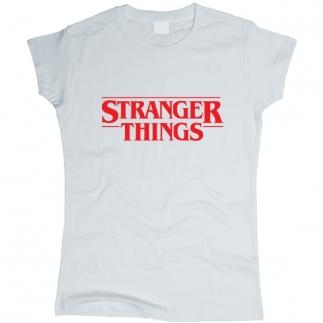 Stranger Things 01 - Футболка женская