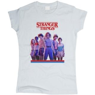 Stranger Things 04 - Футболка женская