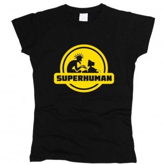 Superhuman 01 - Футболка женская