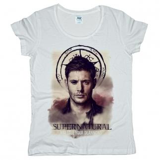 Supernatural 01 - Футболка женская оверсайз