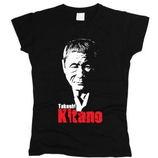 Takeshi Kitano 01 - Футболка женская