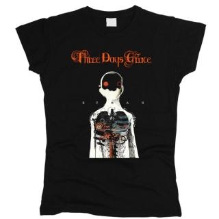 Three Days Grace 05 - Футболка женская