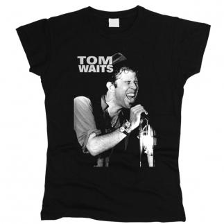 Tom Waits 05 - Футболка женская