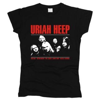 Uriah Heep 01 - Футболка женская