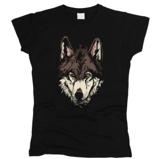 Волк 03 - Футболка женская