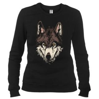 Волк 03 - Свитшот женский