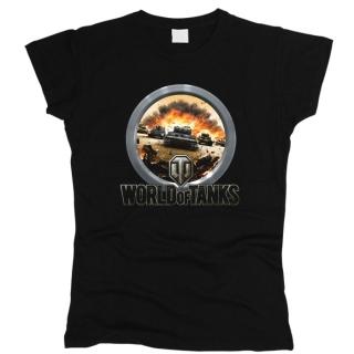 World Of Tanks 07 - Футболка женская