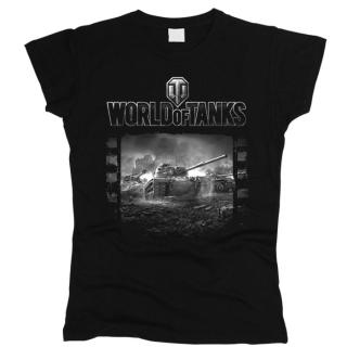 World Of Tanks 09 - Футболка женская
