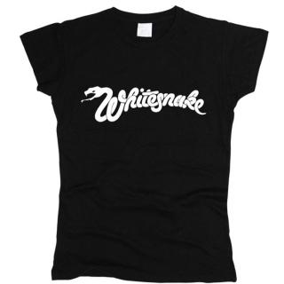 Whitesnake 01 - Футболка женская