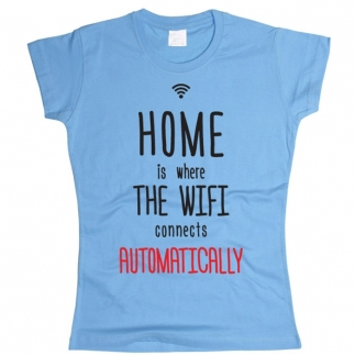 Wi-Fi 01 - Футболка женская