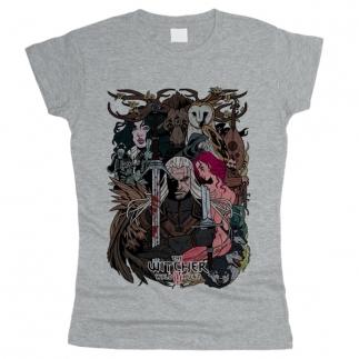 Witcher 04 - Футболка женская