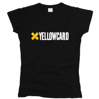 Yellowcard 01 - Футболка женская
