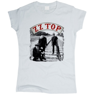 ZZ Top 05 - Футболка женская