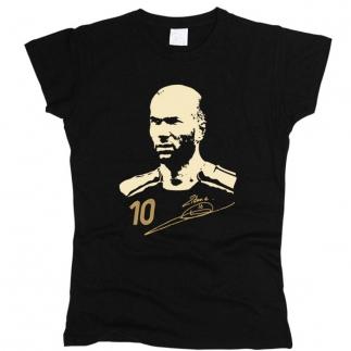 Zidane 02 - Футболка женская