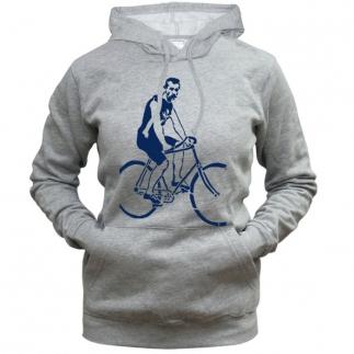 Bike Man - Толстовка с капюшоном женская