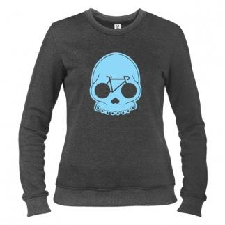 Bike Skull - Свитшот женский